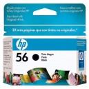 Cartucho de Tinta HP 56 C6656AB 19ml Preto